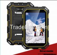 7 inch IP68 android 4.4 rugged tablet pcs