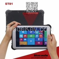 8 inch windows barcode rugged tablet