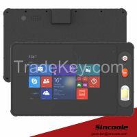 8 inch windows barcode RFID rugged tablet