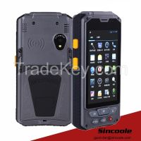 4.3 inch 2D barcode RFID uhf hf android handheld terminal