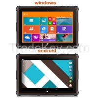 8 inch barcode windows android rugged tablet