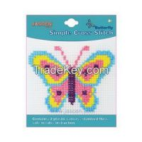 DIY Sewing Cross Stitch Needlepoint Craft for kids