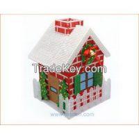 Christmas House 3D Cross Stitch Needlepoint Craft