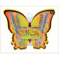 6 Pack Tattoo Gel Pen With Stencil