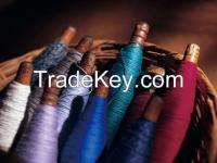 Dyed Wool Yarn