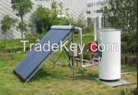 High pressurized split solar collector water heater