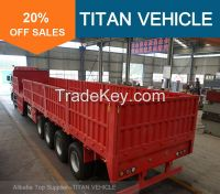 TITAN 40 ton Flatbed Dropside Trailer with Sidewall