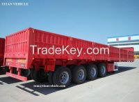 TITAN 40 T Flatbed Dropside Trailer with Sidewall