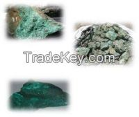 Lead ore / Copper / Tin / Zinc / Columbite / Tantalite / Tungsten / Gold