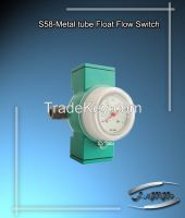 Metal tube flow Switch