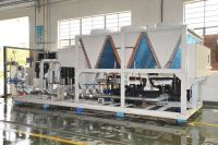 Packaged type air cooled screw industrial chiller