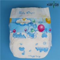 Disposable Baby Diaper with super absorbent SAP