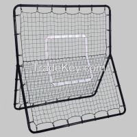Metal frame baseball batting rebound net for training