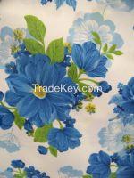 high quality  flower printing cloth
