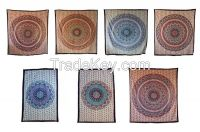 Handicrunch   Star Hippie Mandala Wall Hanging Tapestry  Bed Cover,  Wall hanging