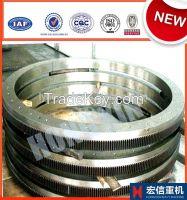 large steel spiral bevel