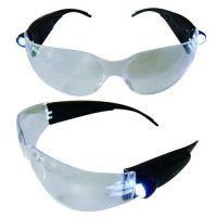 Safety Glasses, LED Lights on Both Sides