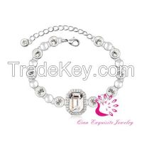 Fashion women's bracelet Best wedding jewelry unse Austrian Crystals