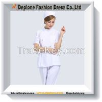 Medical White Nurse Long Sleeve Working Uniform&Workwear