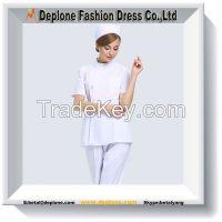 Medical White Nurse Long Sleeve Working Uniform&Workwear