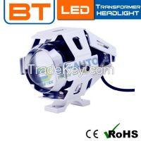 Wholesale 12V 6000/6500K U5 Transformer Projector Motocycle LED Headlight Bulb
