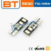 Wholesale Car/motor LED High Power Signal Tail Turn Fog Light T10 5630 SMD Light