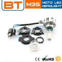 LED Motorcycle Headlight Conversion Kits 30w 2500lm Hi/Lo Beams LED Motor Lights