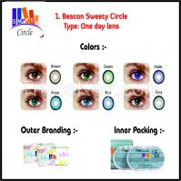 Bescon Brand One Day Color Contact Lens