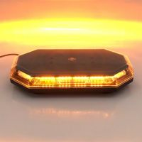 "15"" ECE R65 SAE J845 LED Emergency Warning Light Bar Mini Lightbar Strobe Lamp"