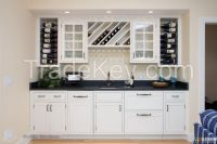 OEM Modern Style and Kitchen Cabinets Type kitchen cabinet glass doors