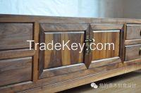solid wood stick cheaper  kitchen cabinet door