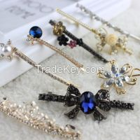 2015 All kinds women beautiful hairpins metal hair accessories china wholesale hair ornament