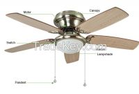 2015 New Ceiling fan lights Ceiling light Continental minimalist moder