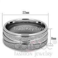 Wholesale Fashion Jewelry Classic Stainless Steel Wedding Ring
