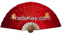 Custom Bamboo Silk Hand Fan for wedding/decorations/ gift/ event sourvenir