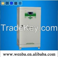 micro computer non-contact three phase intelligent voltage stabilizer