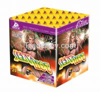 1.0'' 25s Christmas/4th July  Cakes Consumer Fireworks