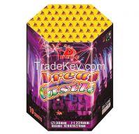 1.2'' 19 shots 1.4G consumer fireworks cake 500g