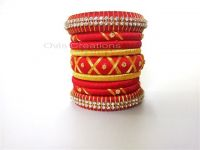 Handmade indian bridal bangles