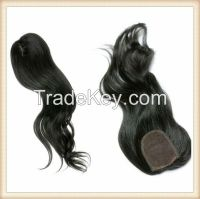 VIRGIN REMY LACE TOP CLOSURE