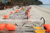 2015 new design Transparent polycarbonate kayak canoe