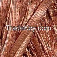 High Quality Copper Wire Scrap 99.9%  ~S