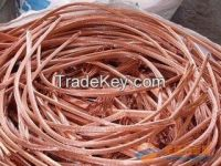 Hot Sale Cu Wire Scrap 99.9%  ~S