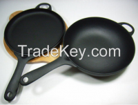 high quality cast iron frying pan