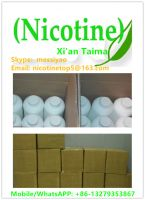 We hot sell nicotine/liquid nicotine/36mg/ml-1000mg/ml nicotine used for e-liquid