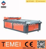 Temei Acrylic Leather Fabric PVC laser cutting machine
