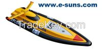 RTR RC Boats Brushless EP Small Boats Explorer 510BP(Yellow)-RTR(Pistol Transmitter)