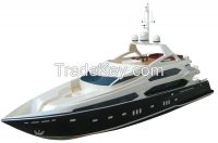 Sunseeker Tri-deck Luxury Yacht 1280BP(A)-RTR(Pistol Transmitter)