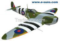 """RC Airplanes Warbirds Spitfire Mk IX - 89""""50cc"""