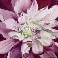white flower canvas oil painting magnolia flower oil painting modern p